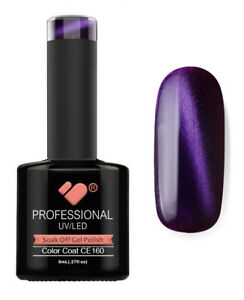 CE160-VB-Line-Cat-Eye-Purple-Blue-Metallic-UV-LED-soak-off-gel-nail-polish