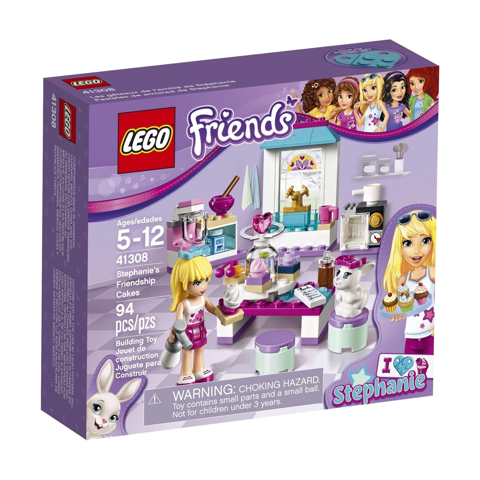 41308 STEPHANIE'S FRIENDSHIP CAKES cupcakes lego set NEW legos FRIENDS bakery