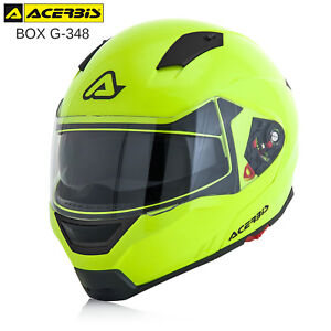 CASCO-MODULARE-ACERBIS-BOX-G-348-APRIBILE-OMOLOGATO-ECE-MOTO-SCOOTER-GIALLO-FLUO