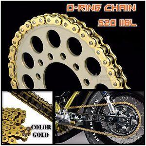 GOLD-520-120L-O-RIng-Chain-for-Yamaha-YZ-125-SR-TDR-TT-TTR-TZR-WR-XT-YZ-250