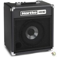 Hartke Hd50 Hydrive 50-watt 10 Small Practice Combo Bass Guitar Amplifier Amp