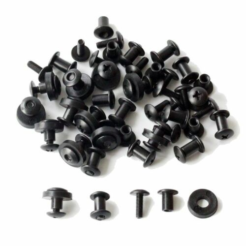 24 Pcs Tek Lok Screw Set Chicago Screw Comes With Washer For DIY Kydex Sheath