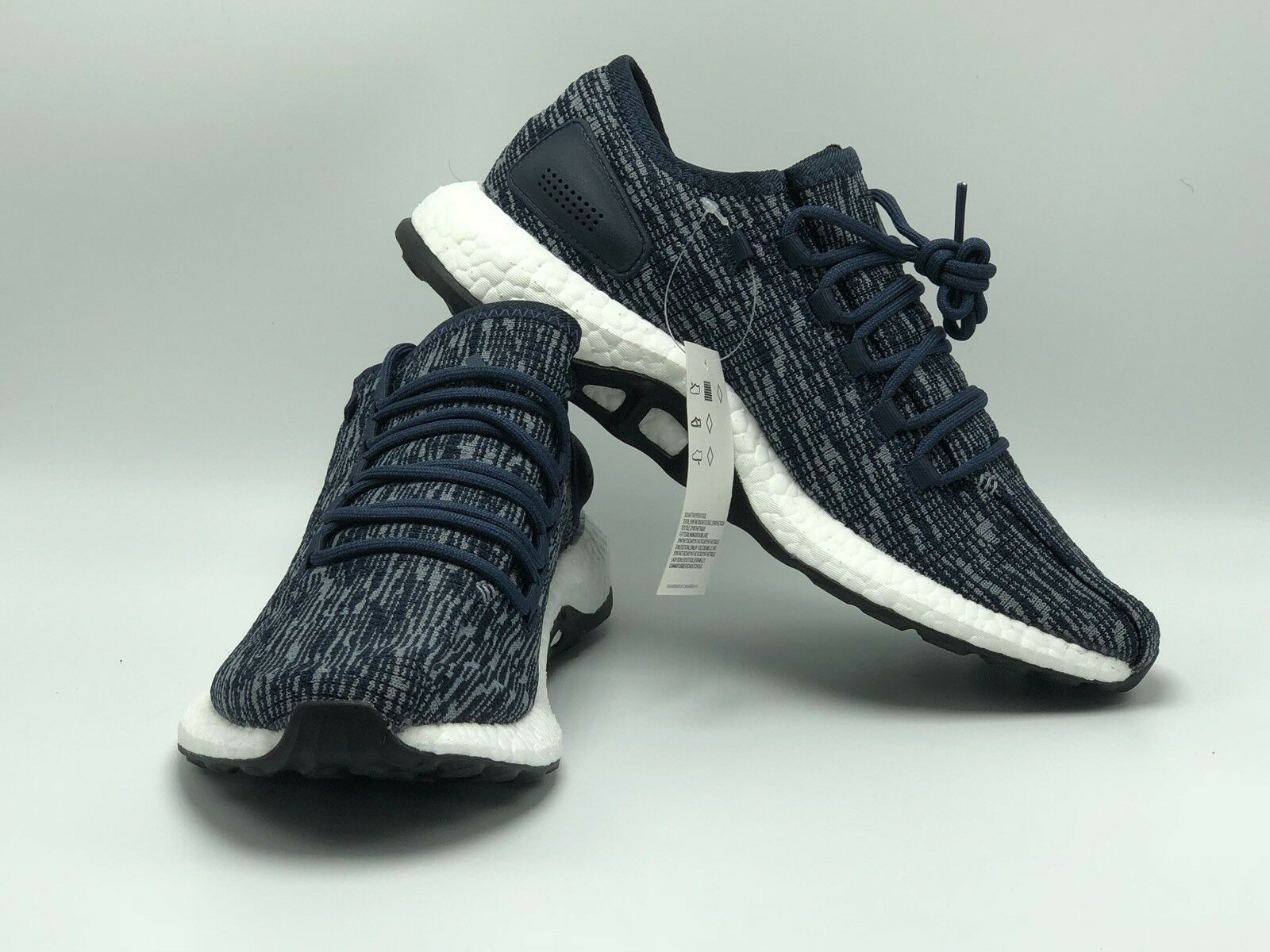 Adidas Men's PureBoost Bb6287 SIZE 9 Retail Comfortable  Running Shoes Only