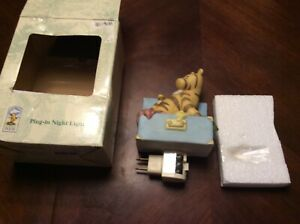 Classic-Winnie-The-Pooh-Michel-amp-Company-Disney-Tigger-Ceramic-Night-Light-In-Bo