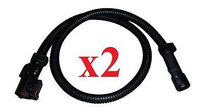 O2 02 Oxygen Sensor Header Extension Wire Harness for Camaro Flat 4-Pin LT1 Muzzys LS1 Corvette LS6 24 in Set of 2 etc.