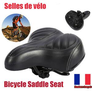 Large Extra Confortable Vélo Gel Cruiser Confort Sporty Doux Coussin siège de selle