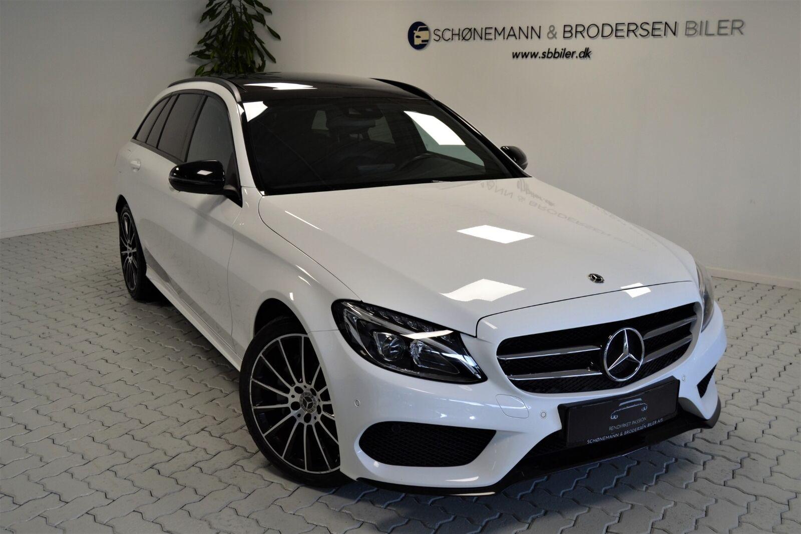 Mercedes C220 d 2,2 AMG Line stc. aut. 4-M 5d - 419.900 kr.