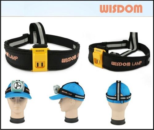 Wisdom Head Lamp Cap Lamp Strap Band Reflective ~Free Shipping within US~