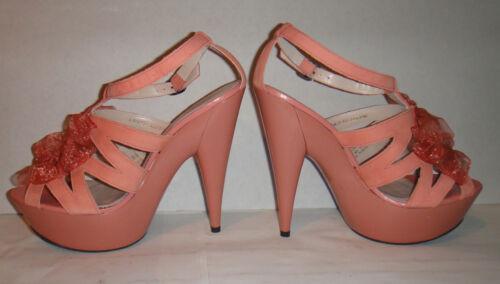 Stiletto Dita Strappy 40 Pink Lorna Burlesque Topshop Chiffon Platform Peeptoe 7 tw6I8nqxxH