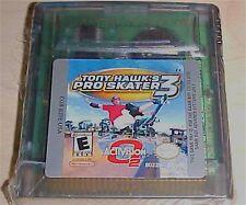 Tony Hawk's PRO SKATER 3 Skateboarding Nintendo Game Boy Color gbc advance gba