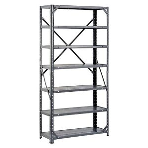 commercial metal shelving steel shelving unit heavy duty metal storage shelves rack 13753