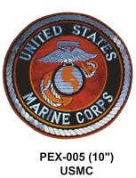 Usmc(iii) Embroidered Military Extra Large Patch Officially Licensed (10)