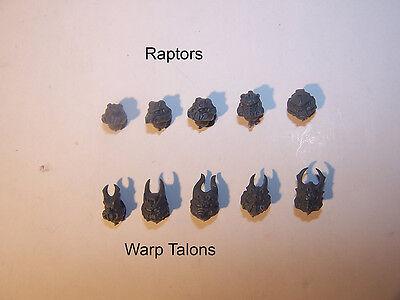 Warp Talons Lightning Claws bits auction 5 Pairs Chaos Raptors