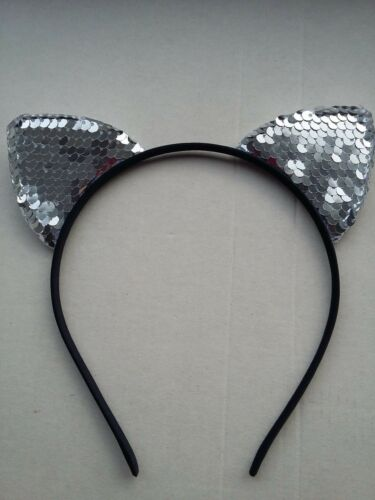 Cat Ears Headband Child Adult Hen Do Party Costume Alice Band great gift makeup