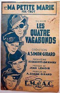Partition-alt-partitur-sheet-music-Simon-Girard-Ma-petite-Marie