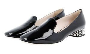 Nouveaux Noir 36 5 Escarpin 5s9744 37 Miu Luxueux IqPtPz