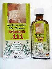 111-Kräuteröl  Dr. Sacher`s