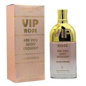 Perfume Vip Rose For Women 33 Oz Eau De Parfum By Classic