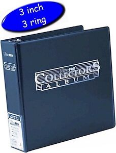Ultra Pro Inch D Ring Collectors Binder