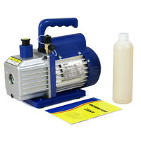 Vacuum Pump 4cfm 1/3hp Can Work With A/c Refrigeration Manifold Gauge (r134a)