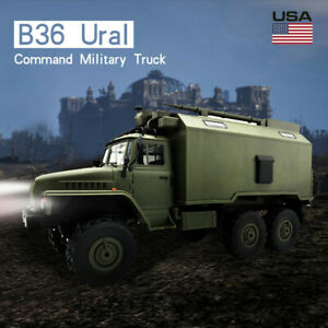WPL-B36-Ural-1-16-2-4G-6WD-RC-Car-Electric-Off-Road-Military-Truck-Crawler-KIT