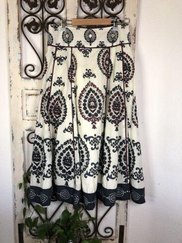 Soft surroundings embellished midi skirt Size Peti