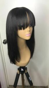 Brazilian-Straight-Human-Hair-Wigs-Glueless-Lace-Front-Wig-with-Bangs-Baby-Hair