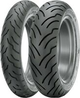 Dunlop American Elite Front & Rear Tires, 130/70b-18 & 180/65b-16 31ae78/34ae57 on sale