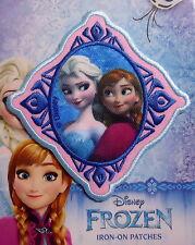 Anna & Elsa im Prisma - Frozen - Bügelflicken / Iron-On Patch - Disney - 9cm