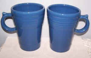 Image Is Loading New Set Of 2 Fiestaware Lapis Blue Large