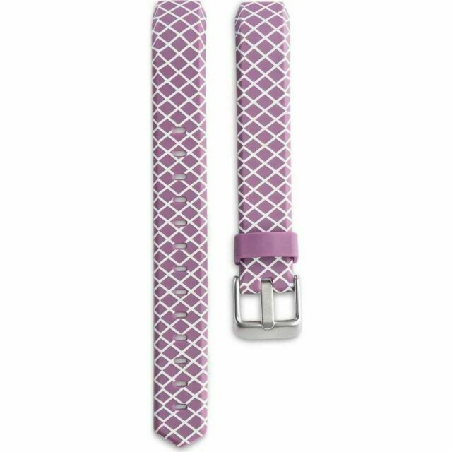ONN Fitbit Alta Replacement Band With Metal Buckle For Alta Black,Purple,Or Pink