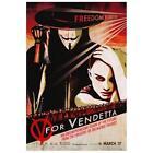 V for Vendetta Poster Movie C 27 x 40 In - 69cm 102cm Natalie Portman Hugo Weaving Sin ad Cusack Nicolas de Pruyssenaere Stephen Fry Selina Giles