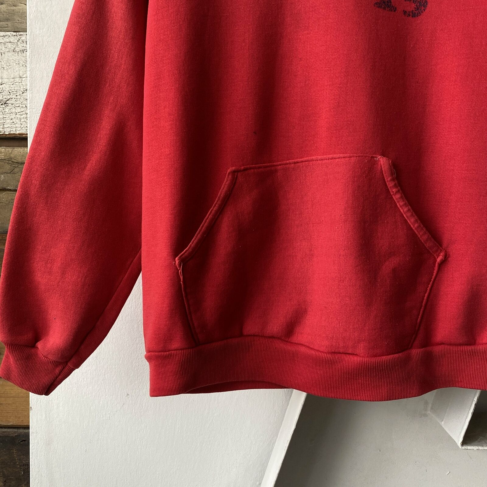 Vintage 70s Russell Hoodie - Small north marion t… - image 3