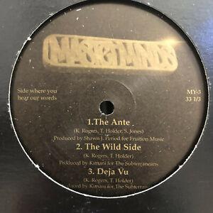 "MASTERMINDS - THE ANTE / THE WILD SIDE / DEJA VU (12"")  1998!!  RARE!!  KIMANI!!"