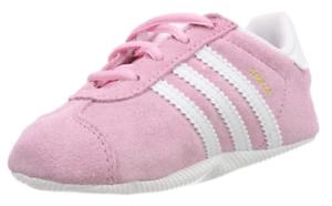 Basket adidas Gazelle rose Crib Sneakers Basses Bébé Fille taille
