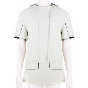 Felipe-Oliveira-Baptista-Off-White-Grained-Leather-Hooded-Top-FR34-UK6