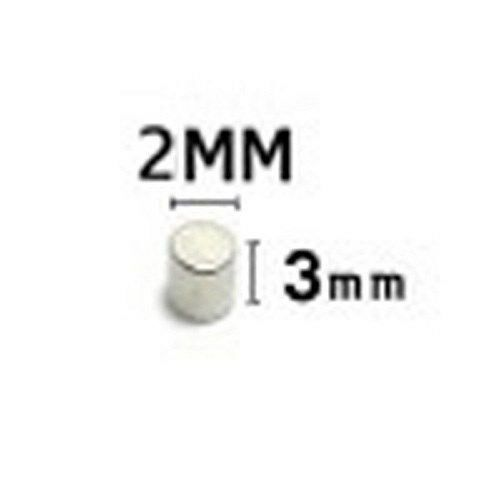 10 pcs rare earth magnet BJD  Doll 2mm x 3mm  magnet head magnet