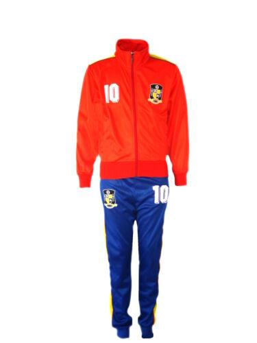 Fußball Trainingsanzug Jungen Neu Top Training Kit Set Größe Alter 4-12 Jahre