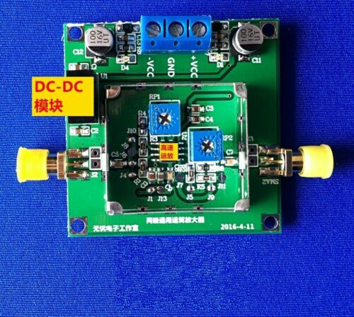 AD8008 650MHZ dual channel bandwidth current feedback amplifier