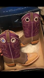 Womens-Cowgirl-Boots-Purple