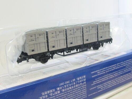 BM4570 5 Behältern DR OVP Piko H0 54428 Behältertragwagen Btmm m