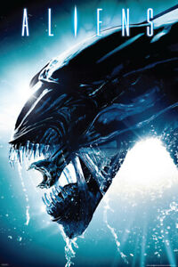 B-667 Hot New Aliens Classic Horror Movie 12x18 24x36 27x40 Fabric Poster