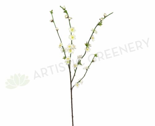 NEW Artificial Flowers//Plants F-RT-5489CR Cherry Blossom 83cm Cream