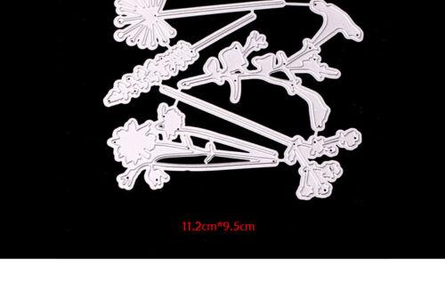 Metal de corte muere plantillas para Hágalo usted mismo Herramienta de grabación en relieve decorativo álbum de recortes