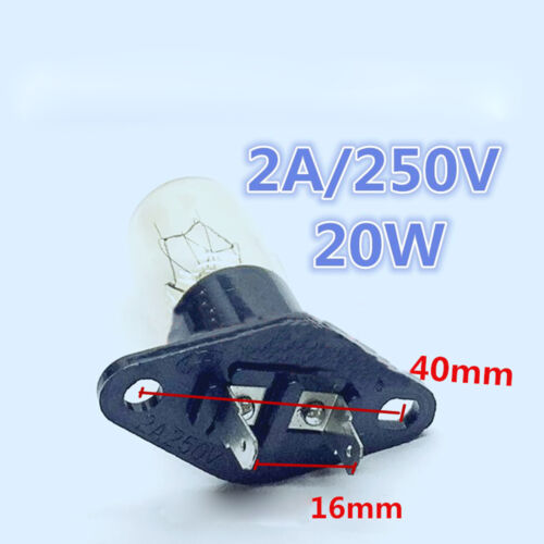 Universal Bulb Light Replacement 20W Microwave Oven Fridge Bulb Home Repair Part