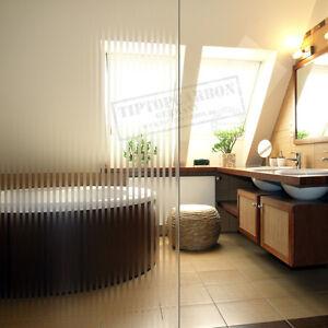 9-18-M-Premium-finestra-vetro-latteo-Pellicola-congelato-strisce-per