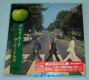 THE-BEATLES-Abbey-Road-JAPAN-mini-lp-CD-SHM-1st-Press-red-sticker