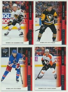 2020-21-UPPER-DECK-HOCKEY-SERIES-1-Debut-Dates-Pick-Your-Card-Finish-Your-Set