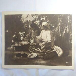 Photo-Flandrin-rare-original-large-Heliograph-Editions-Mars-19-le-The