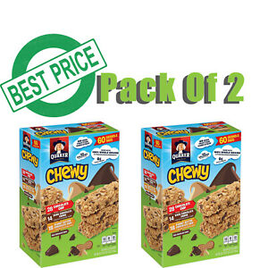 Pack-of-2-Quaker-Chewy-Granola-Bars-Variety-Pack-60-ct-BEST-DEALS-IN-USA